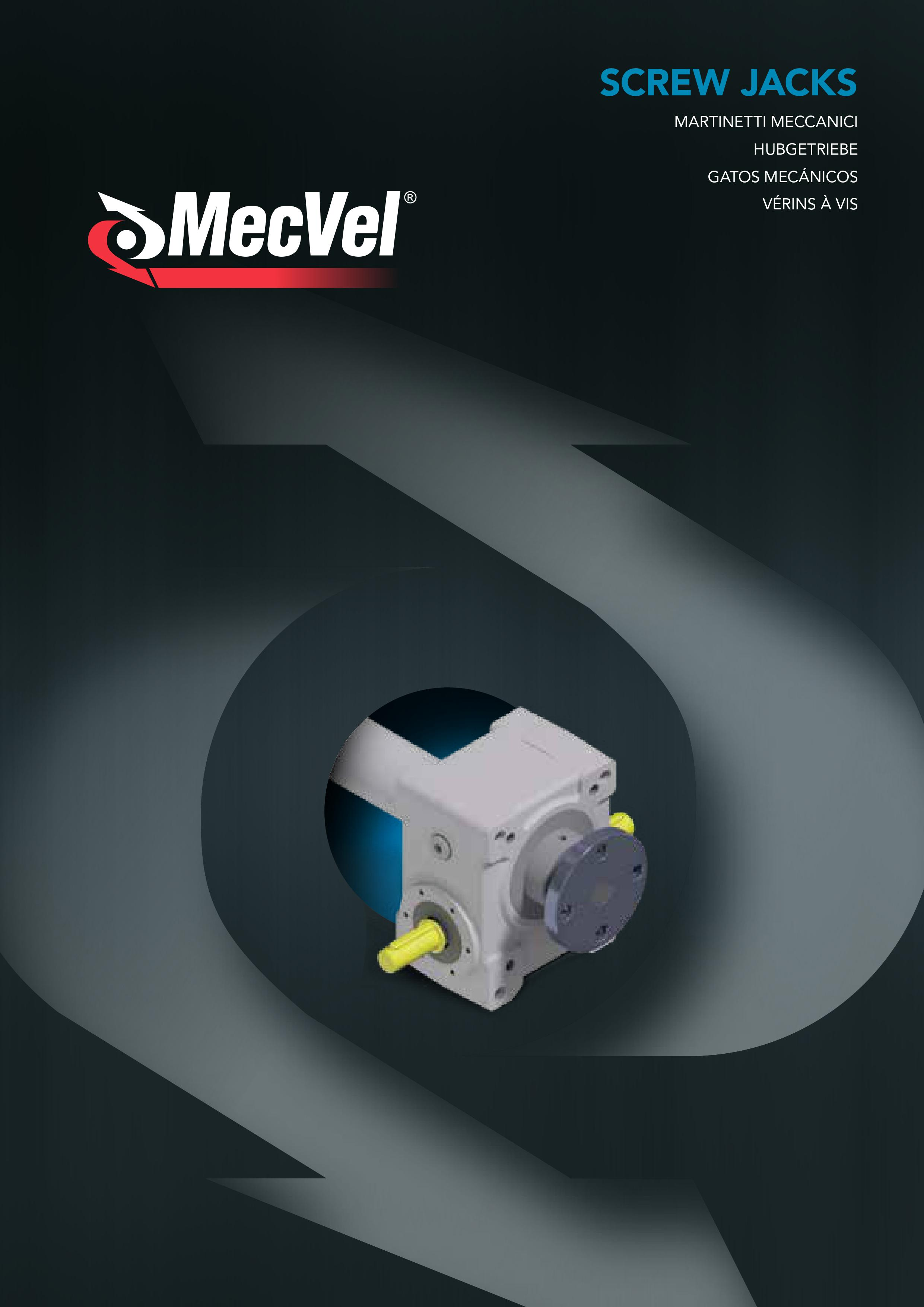 MecVel screw jacks range